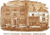 Brown's shop in 1859