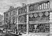 J. Alex Brown's shop 1887