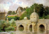 W.H. Allen: Bradford on Avon Town Bridge