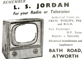 Jordan's shop, Atworth, advert