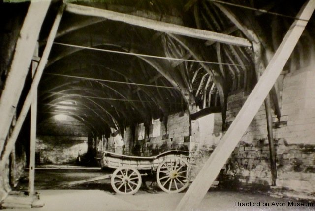 Tithe Barn, Barton Farm, wagon