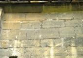 Tithe Barn, Barton Farm, masons' marks