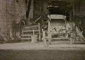 Tithe Barn, Barton Farm, stagecoach