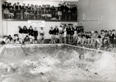 Fitzmaurice School -swimming at the baths in Bridge Street