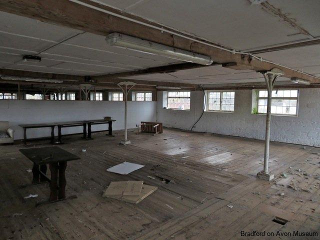 interior of Beavens' factory, Holt, Bradford on Avon