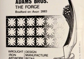 Adams Brothers forge advertisement