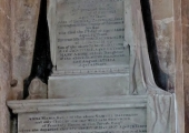 Bailward memorial, Holy Trinity church
