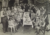 VE-Day party, Coppice Hill