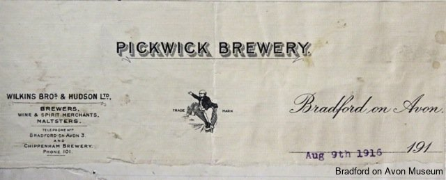Wilkins & Hudson, Pickwick Brewery, Bradford on Avon