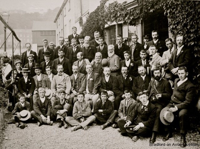 Wilkins Brewery trip to Ilfracombe 1899
