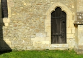 priest's door, Parish Church, Broughton Gifford