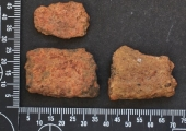 Roman pottery sherd from Brought Gifford Common