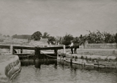 Kennet & Avon Canal lock, Bradford on Avon c1910