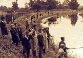 Fishing competition, Widbrook