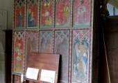 organ, Great Chalfield church