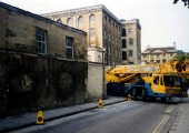 removal of machinery, Abbey and Church Street Mills c1995