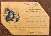 H.H. Jones Xmas 1896
