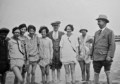 Co-op outing, Bournemouth 1927