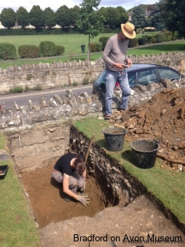 Trench 2 - 16th August 2014