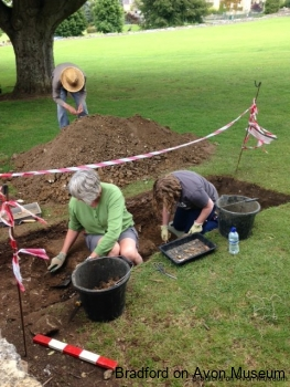 Trench 1 - 16th August 2014