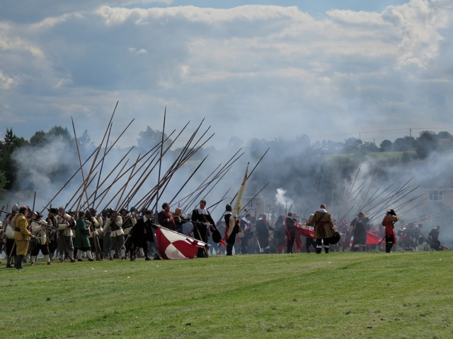 Civil War re-enactment 2016
