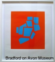 Abstract Map of Bradford Hundred by Sue Maude