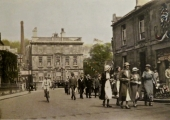 royal celebration, Bradford on Avon 1930s