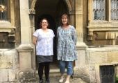 Jess Smith and Sarah Howard at The Hall July 2018