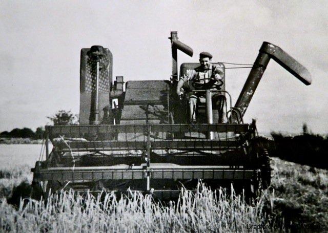 combine harvester, Winsley