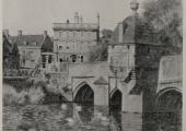 Town Bridge, from a drawing by Edward Walker 1943