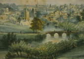 Bradford, Lithograph by Elizabeth Tackle