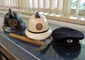 firemen's helmets