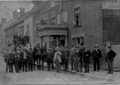 Kingston Mill Fire Brigade, Market Lavington 1902