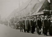 Fire Brigade, 1930s parade