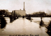 flood at Staverton 1915