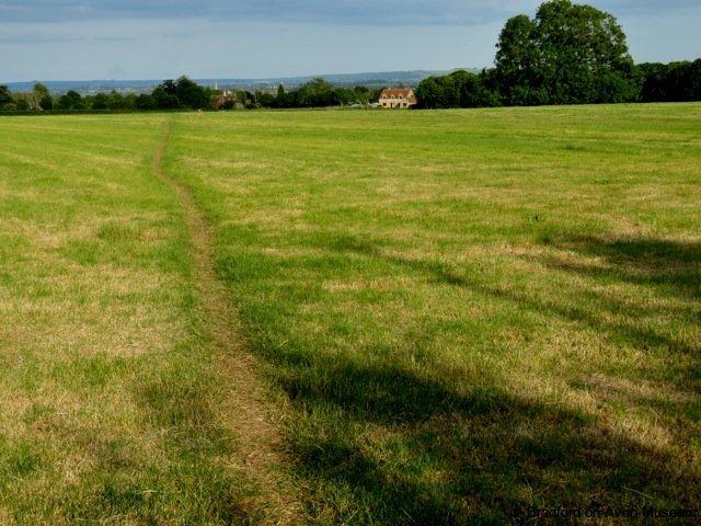 footpath, Upper Bearfiled, Bradford on Avon