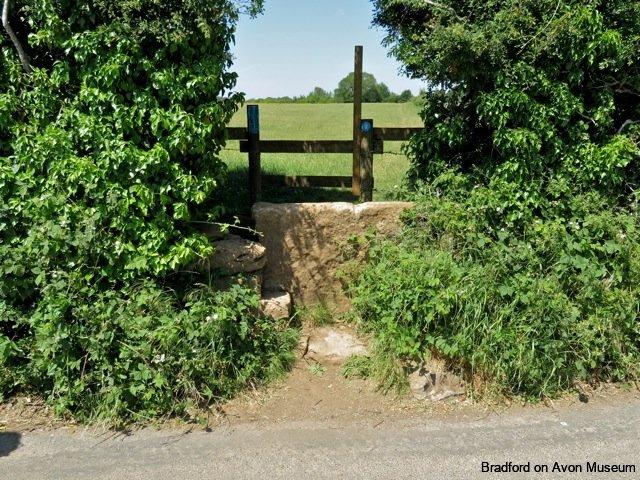 stone stile, Ashley, Winsley, Bradford on Avon