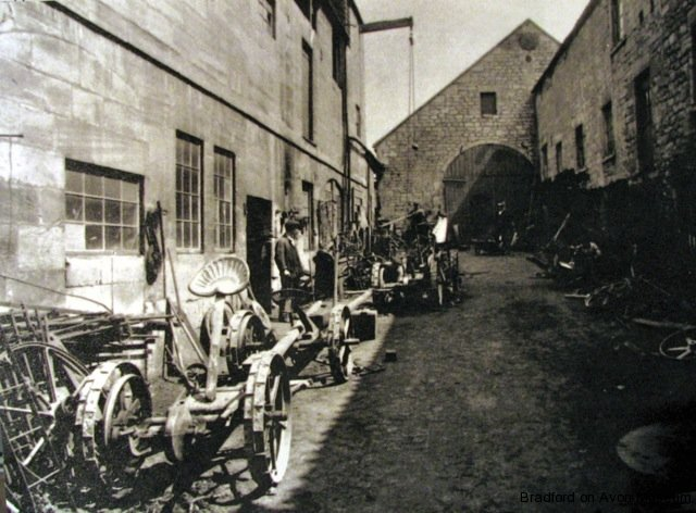 Trowbridge Road iron foundry