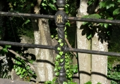 cast iron post, Bridge Street