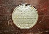 medallion, church, Holt