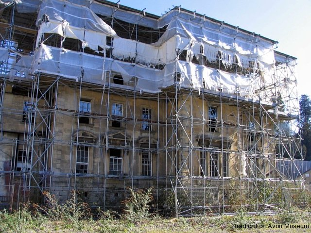 Kingston House awaiting restoration