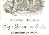 Avon House girls' school advertisement