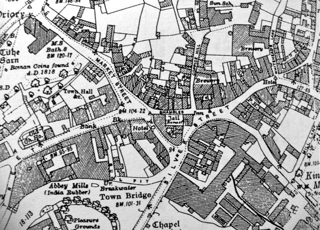 Bradford 1924, 6-inch Ordnance Survey map