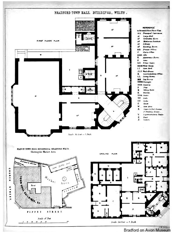 Town Hall Plans, Bradford on Avon