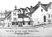 Site of the Town Hall 1854