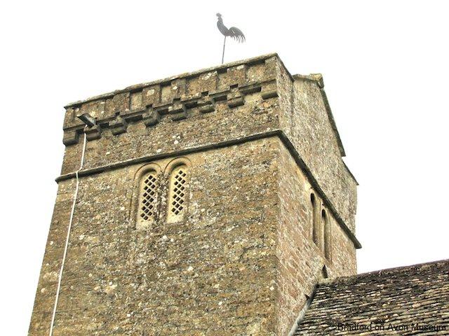 Monkton Farleigh church tower
