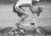Richard Grigsby, 1990 Fowey Triathlon