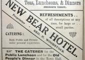 New Bear advertisement