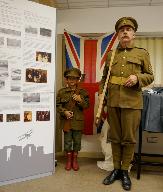 dressing up, Great War exhibition