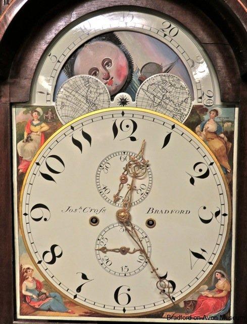 long case clock by Joseph Cross, Bradford on Avon